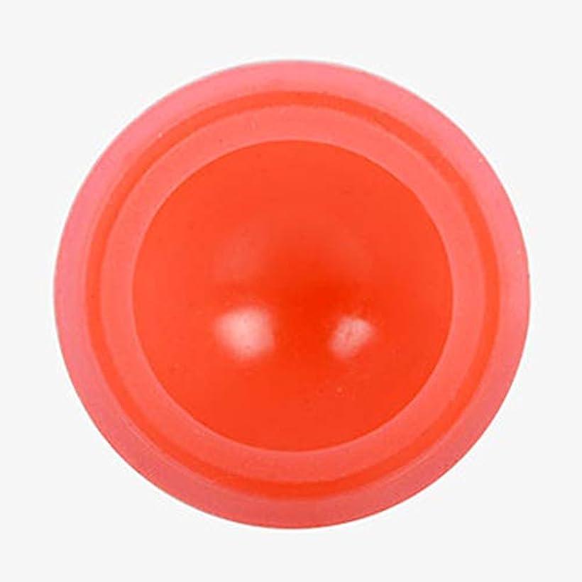 振動する絶対の芽マッサージカッピング カッピング シリコンカッピング 吸い玉 真空セラピー 脂肪吸引 康祝 関節と筋肉痛救済 セルライト治療,オレンジ色