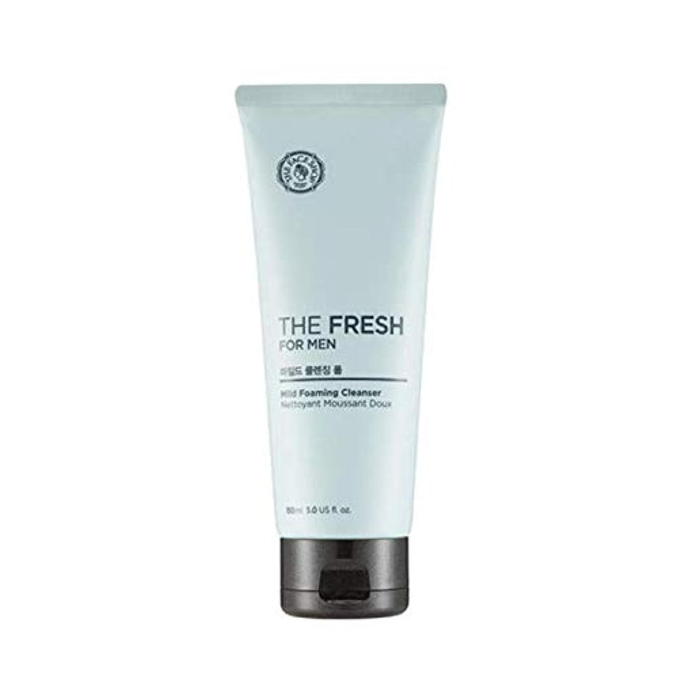 流行請求書話すザフェイスショップ ザフレッシュフォーメンマイルドフォーミングクレンザー 150ml / THE FACE SHOP The Fresh For Men Mild Foaming Cleanser 150ml [並行輸入品]