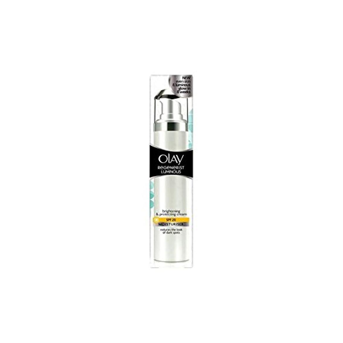コスチューム不正ペインティングOlay Regenerist Luminous Day Cream Spf20 (50ml) (Pack of 6) - オーレイリジェネ発光デイクリーム20(50ミリリットル) x6 [並行輸入品]