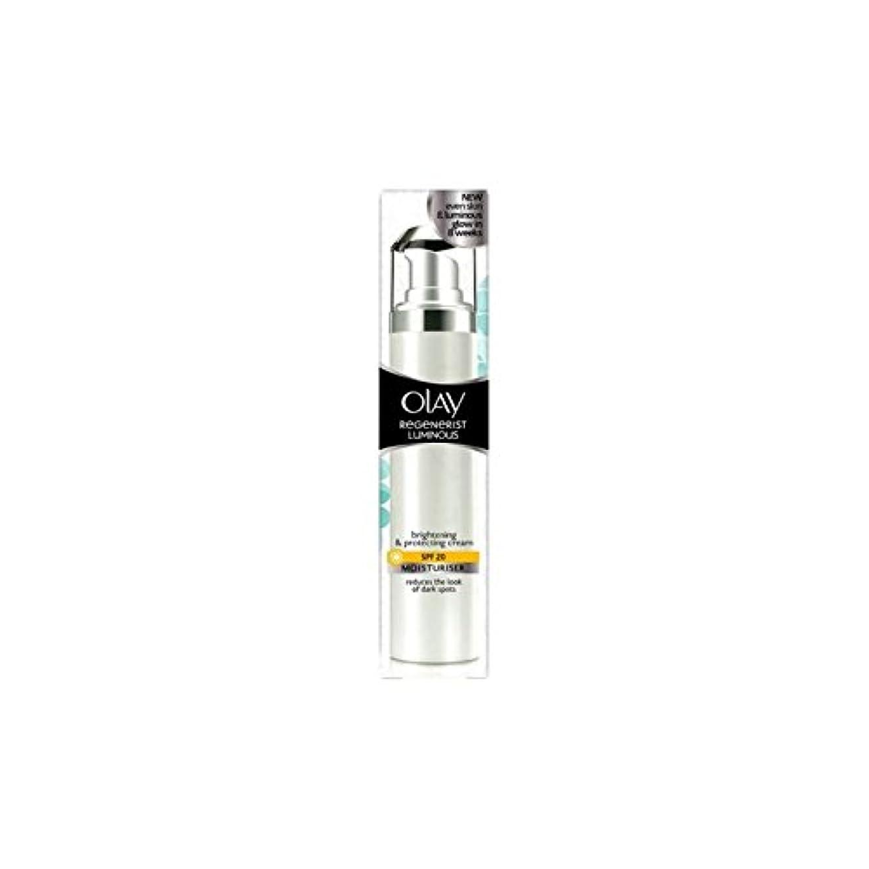 スワップ荒廃する愛国的なOlay Regenerist Luminous Day Cream Spf20 (50ml) (Pack of 6) - オーレイリジェネ発光デイクリーム20(50ミリリットル) x6 [並行輸入品]