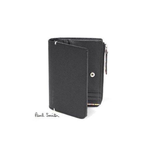 ポールスミス Paul Smith 財布 2つ折り財布 p865 メンズ 紳士 (ネイビー)