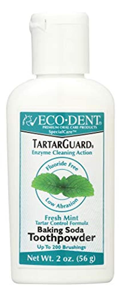 関税であること千海外直送品 Eco-Dent (formerly Merflaun) Toothpowder, Tartar Guard 2 Oz