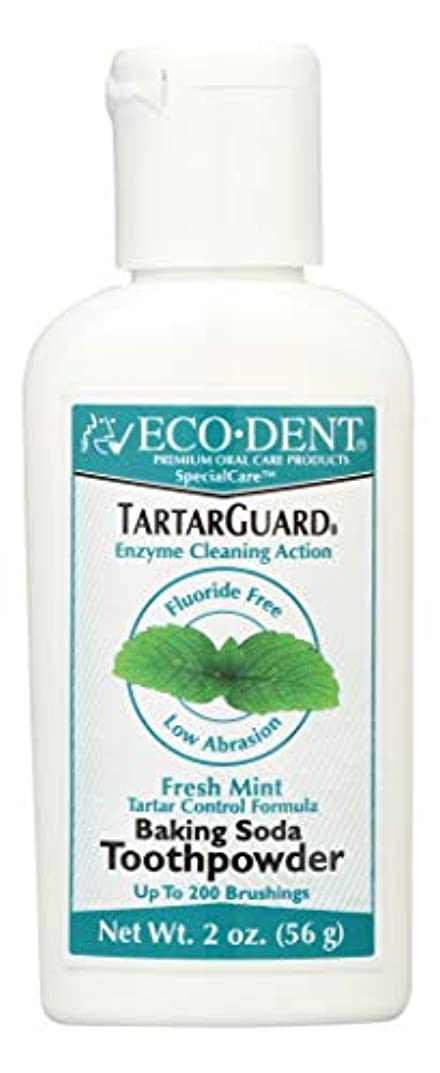 根絶する化学極貧海外直送品 Eco-Dent (formerly Merflaun) Toothpowder, Tartar Guard 2 Oz