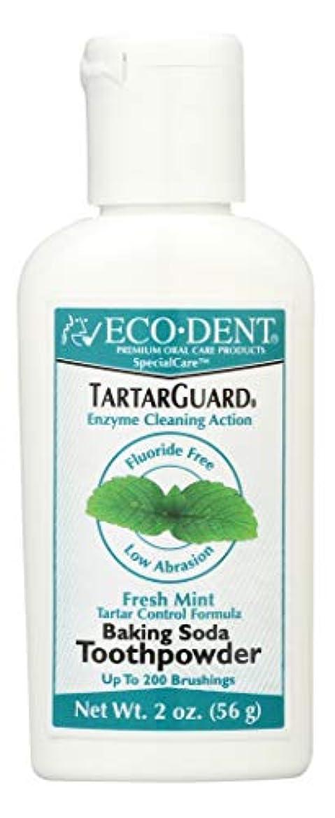 行う浴明らかに海外直送品 Eco-Dent (formerly Merflaun) Toothpowder, Tartar Guard 2 Oz