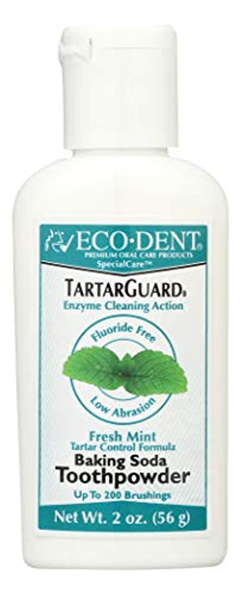 オセアニア湿度目を覚ます海外直送品 Eco-Dent (formerly Merflaun) Toothpowder, Tartar Guard 2 Oz