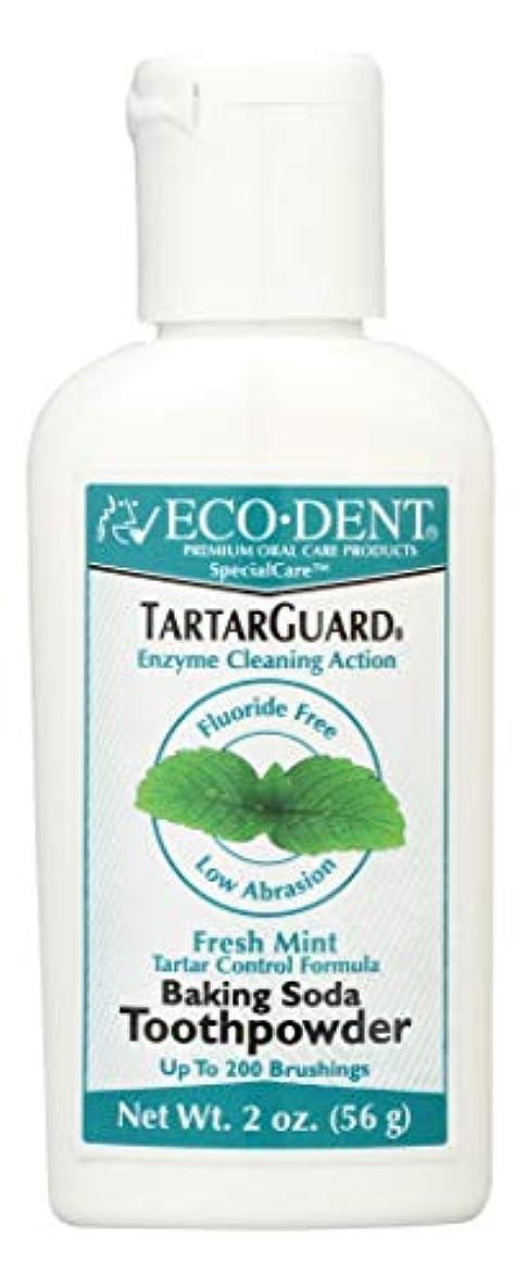 オセアニア湿度目を覚ます海外直送品 Eco-Dent (formerly Merflaun) Toothpowder, Tartar Guard 2 Oz