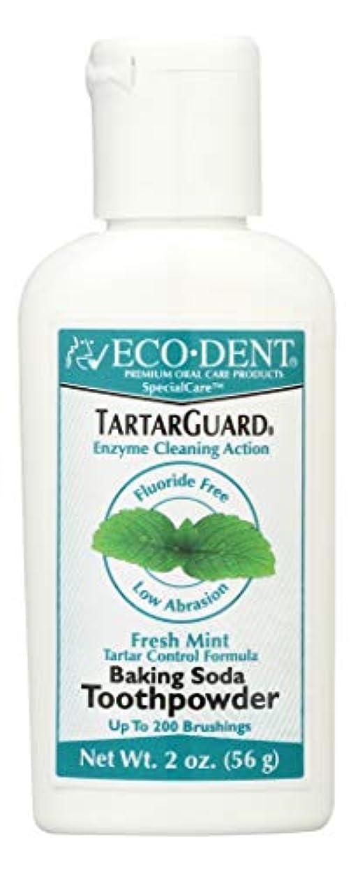 議論する禁輸無条件海外直送品 Eco-Dent (formerly Merflaun) Toothpowder, Tartar Guard 2 Oz