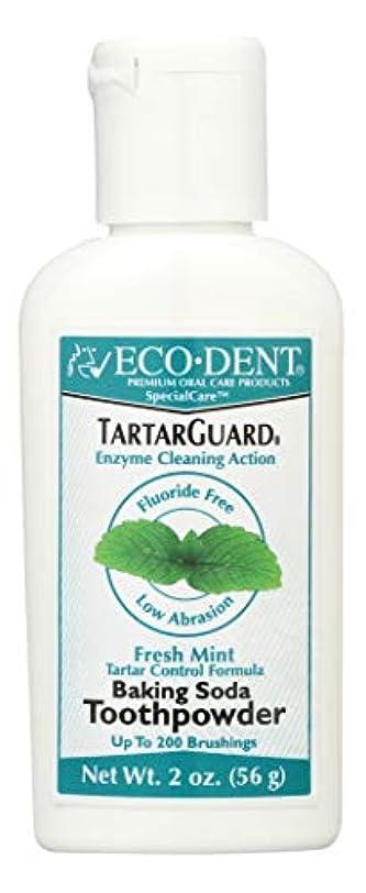 嫌がる故国不要海外直送品 Eco-Dent (formerly Merflaun) Toothpowder, Tartar Guard 2 Oz
