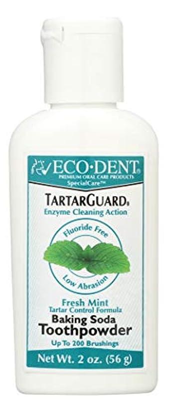 駐地申し込む冷酷な海外直送品 Eco-Dent (formerly Merflaun) Toothpowder, Tartar Guard 2 Oz