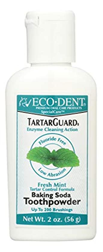 聖なるパットに慣れ海外直送品 Eco-Dent (formerly Merflaun) Toothpowder, Tartar Guard 2 Oz
