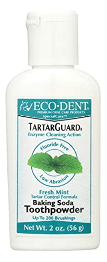 符号香りを必要としています海外直送品 Eco-Dent (formerly Merflaun) Toothpowder, Tartar Guard 2 Oz