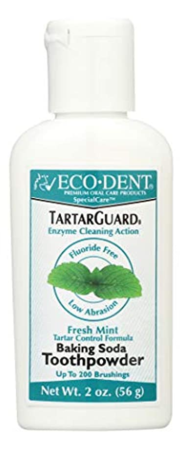 ビジター復活略す海外直送品 Eco-Dent (formerly Merflaun) Toothpowder, Tartar Guard 2 Oz