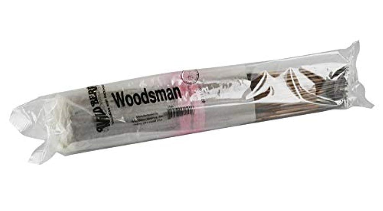 軽減する家族知的100pc Wild Berry Incenseバンドル – Woodsman