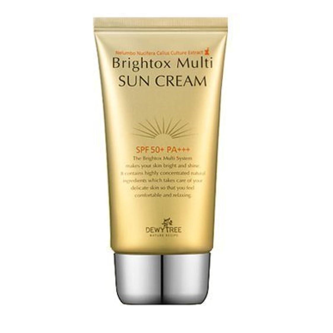 泥棒ダウンつらいDewytree Brightox Multi SUN CREAM SPF50+, PA+++50ml