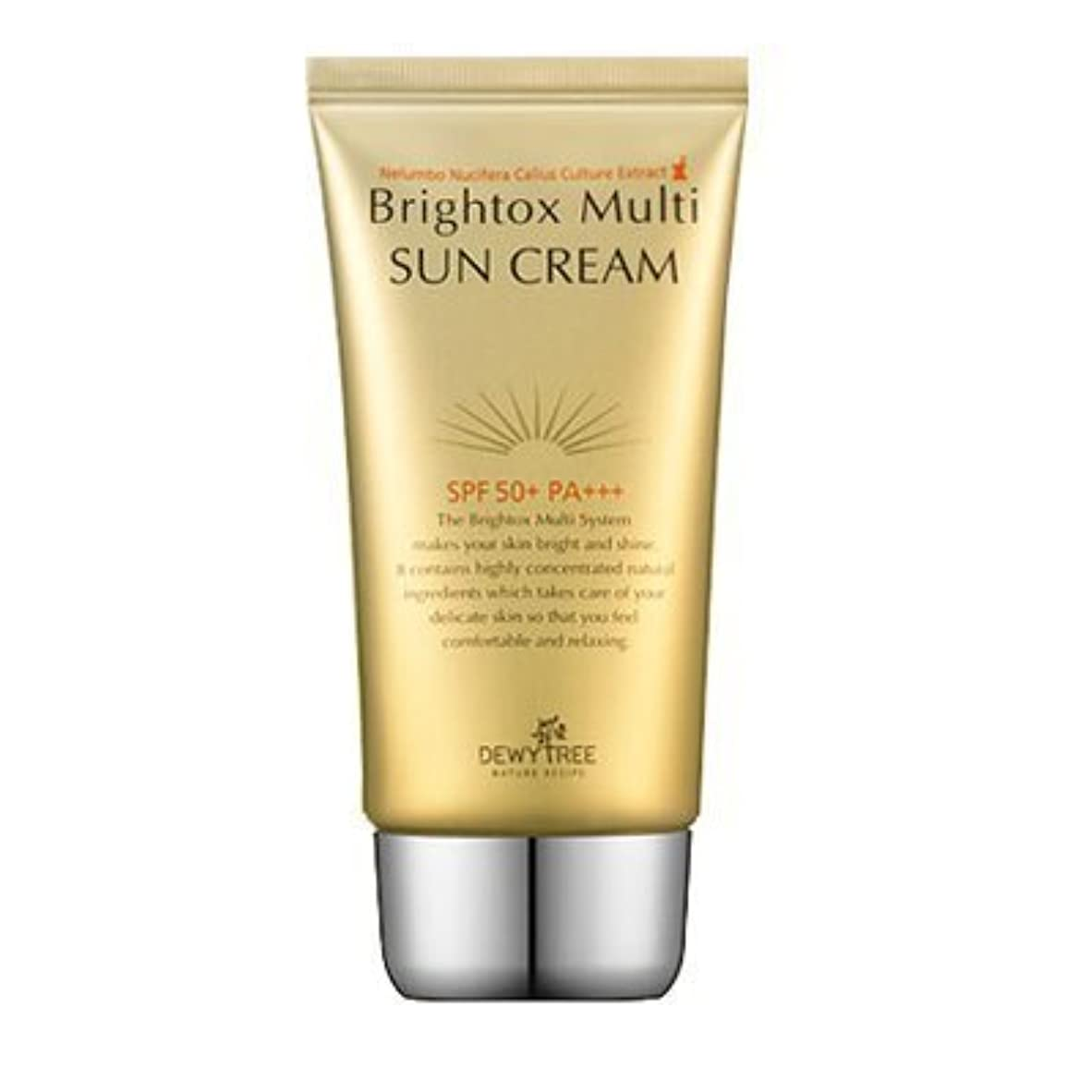 ファブリック遅いアルバムDewytree Brightox Multi SUN CREAM SPF50+, PA+++50ml