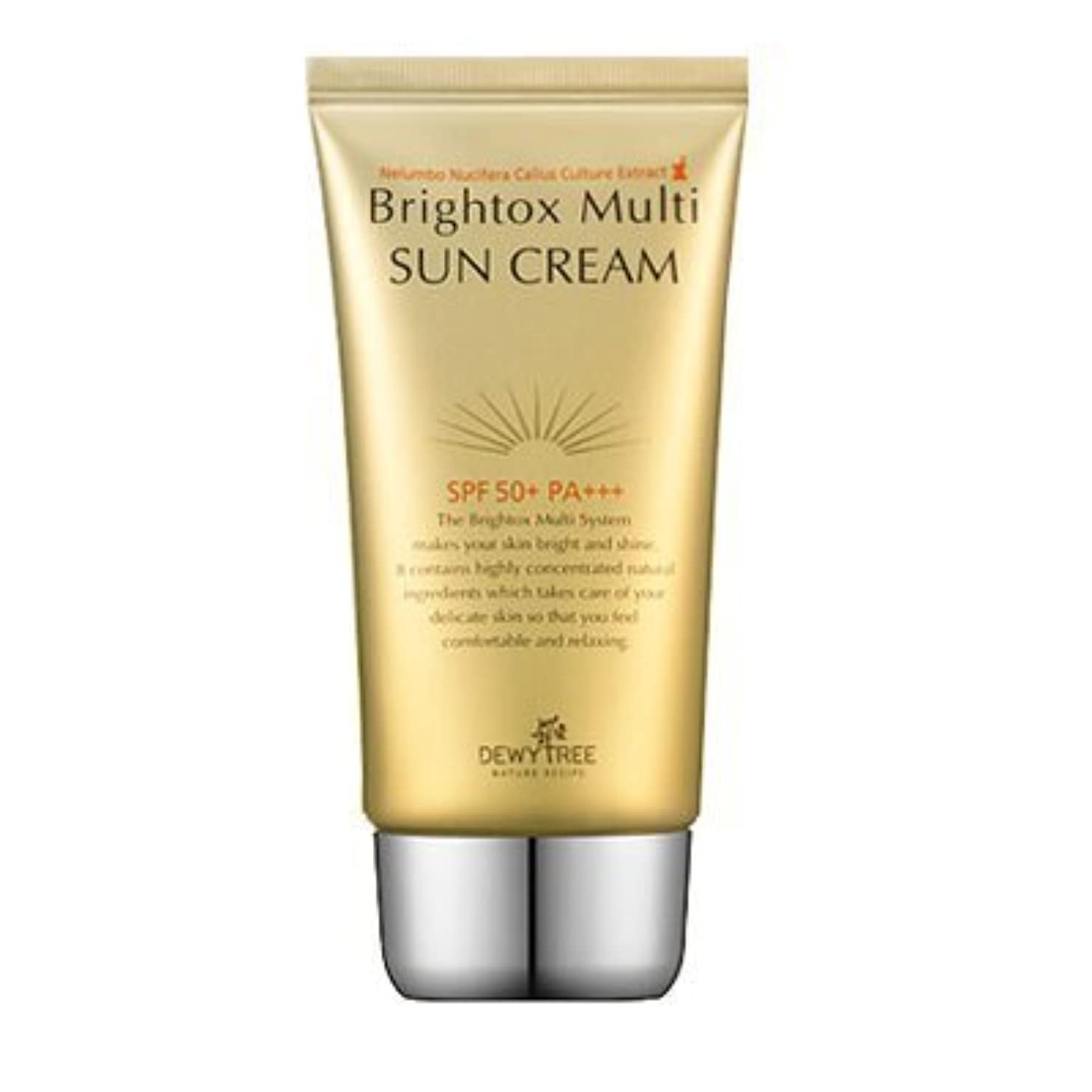 敬な気まぐれな苛性Dewytree Brightox Multi SUN CREAM SPF50+, PA+++50ml