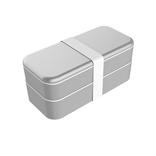 【日本総代理店】FUNCTION101 BENTO STACK ベントウスタック Appleアクセサリ 収納ケース - シルバーFUN-OT...