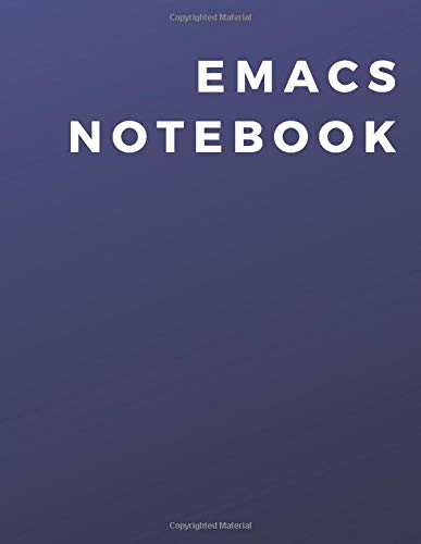 [画像:Emacs Programming Notebook: A Emacs Programming Notebook|Journal|Diary For Daily Use]