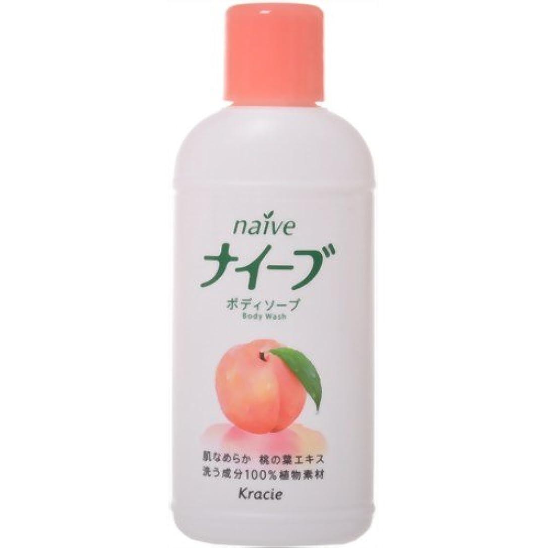 ベルベット光ホストナイーブボディソープ桃の葉ミニ
