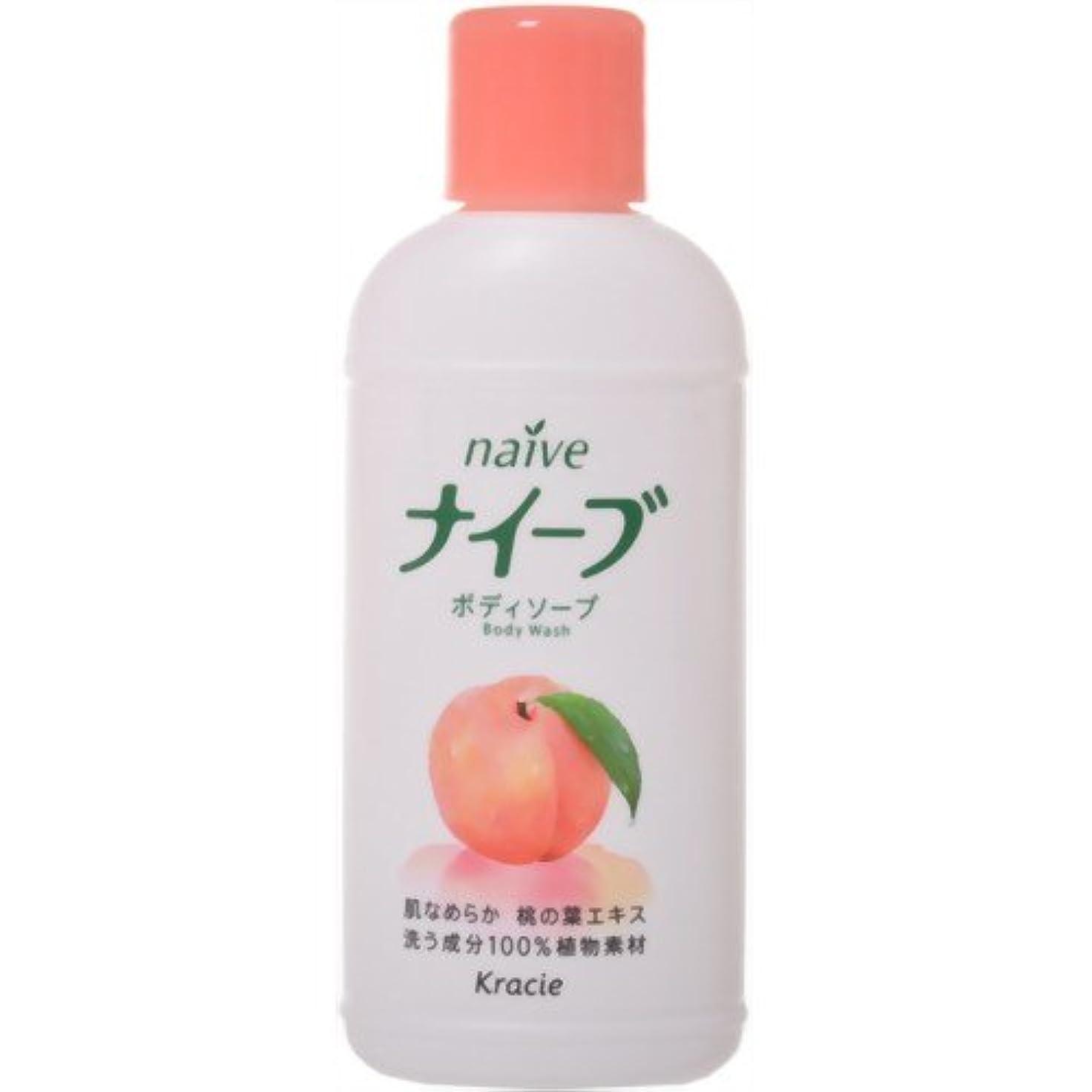 不十分きらめきリフトナイーブボディソープ桃の葉ミニ