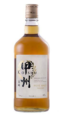 甲州韮崎ウイスキー ピュアモルト 瓶 700ml