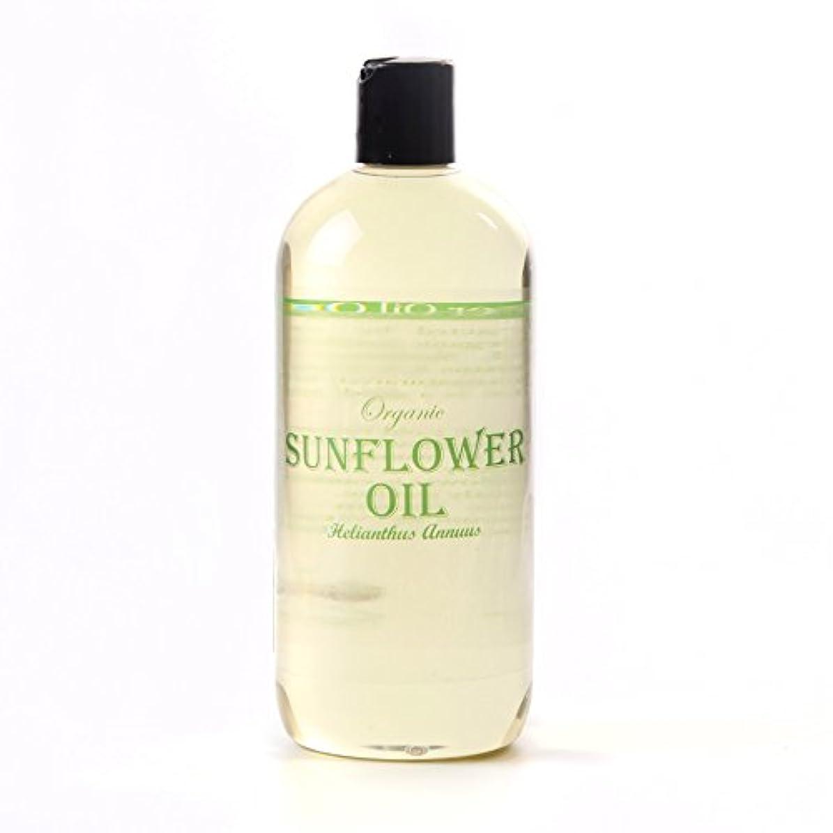 神話設計図不適Mystic Moments | Sunflower Organic Carrier Oil - 1 Litre - 100% Pure