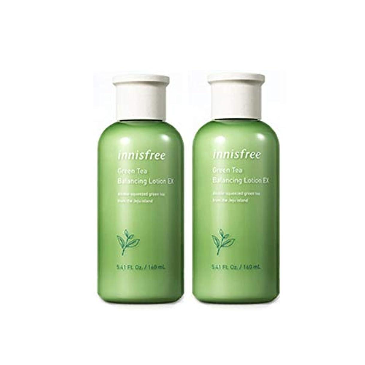 再生送信するペチュランスイニスフリーグリーンティーバランシングローション160mlx 2本セット水分ローション韓国コスメ、innisfree Green Tea Balancing Lotion 160ml x 2ea Set Korean Cosmetics...