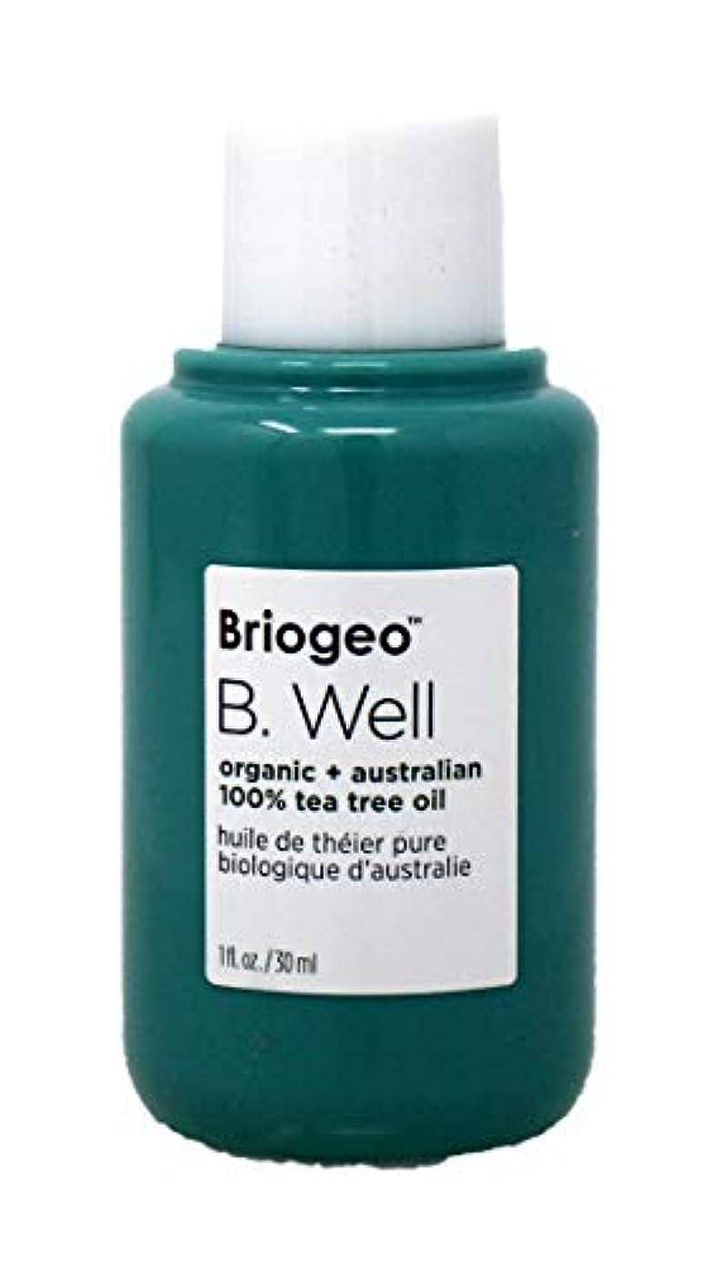 成り立つリルにブリオジオ B. Well Organic + Australian 100% Tea Tree Oil (For Dry, Itchy Scalp and Blemishes) 30ml/1oz並行輸入品