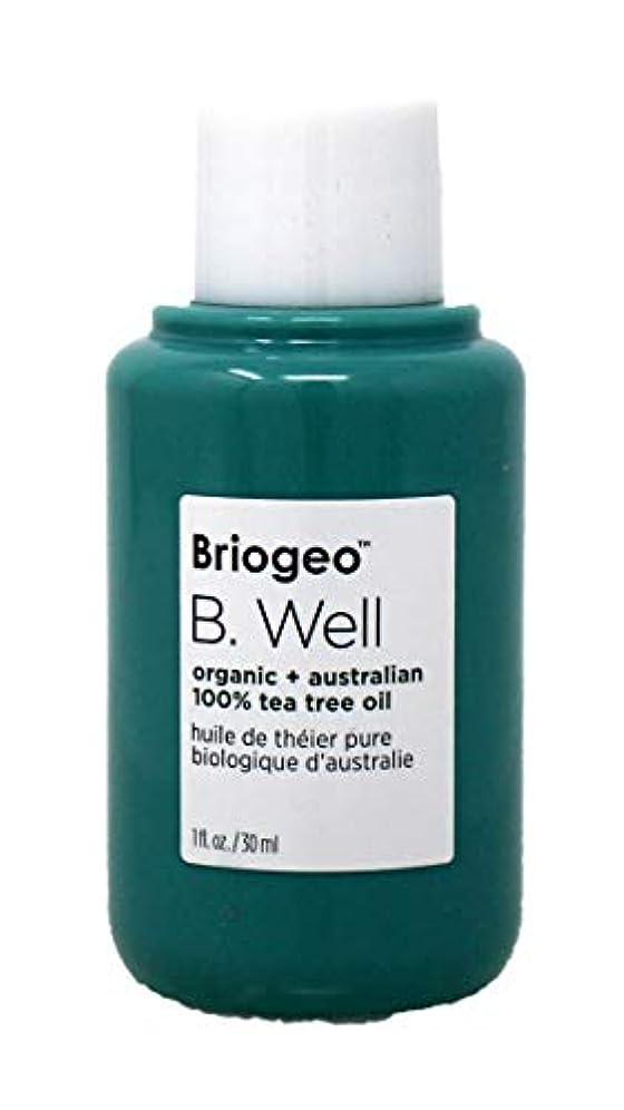 防ぐ愚か汚染ブリオジオ B. Well Organic + Australian 100% Tea Tree Oil (For Dry, Itchy Scalp and Blemishes) 30ml/1oz並行輸入品
