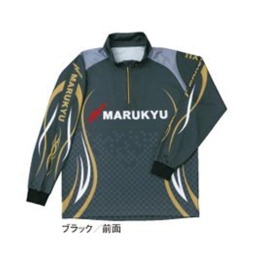 株式チャート持っているマルキュー(MARUKYU) マルキユー ジップアップシャツ ブラック M
