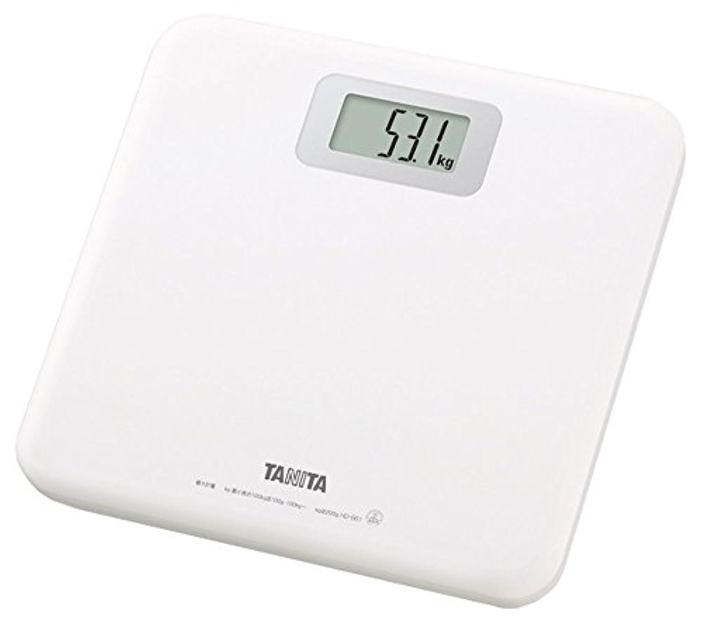 眠りカテナあなたはタニタ 体重計 ホワイト HD-661-WH