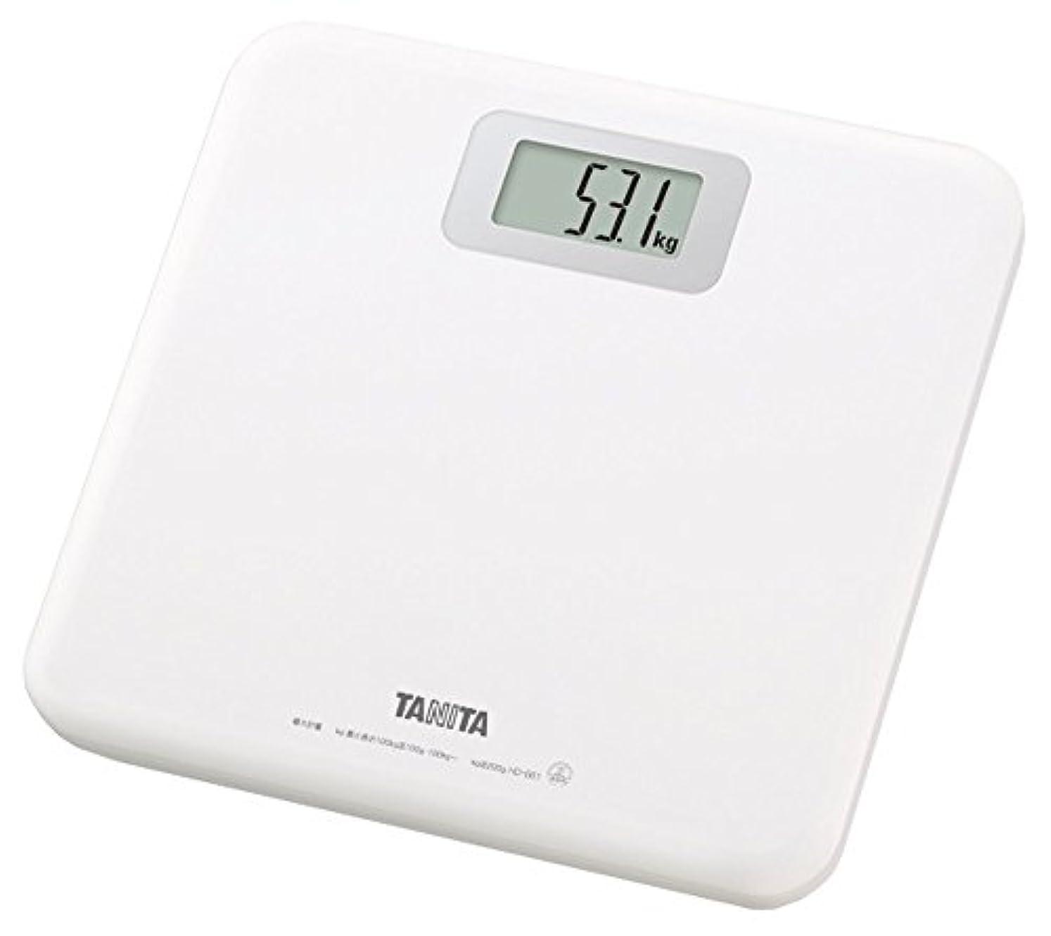 どれでも牛肉タンザニアタニタ 体重計 ホワイト HD-661-WH