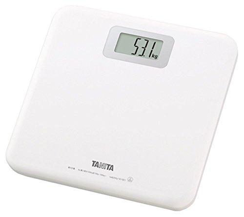 タニタ 体重計 ホワイト HD-661-WH 乗るだけで電源...