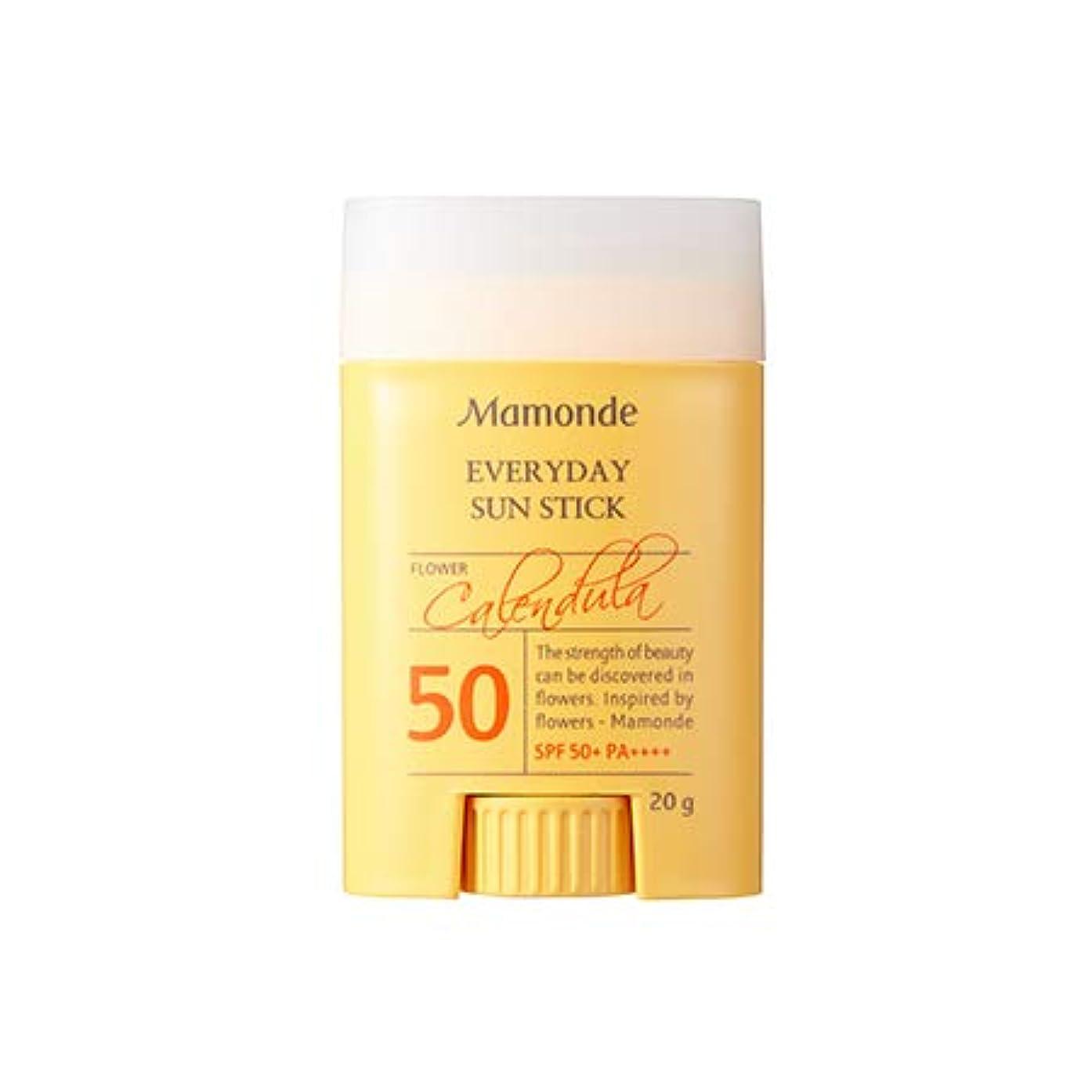 親愛な踏みつけつまずくMamonde Everyday Sun Stick 20g マモンド エブリデーサンスティック (SPF50+/PA++++) [並行輸入品]