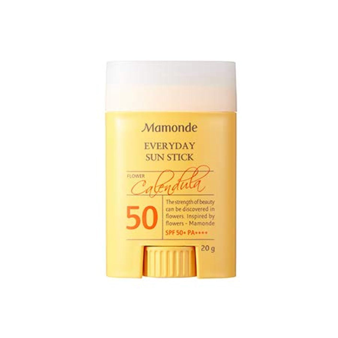 一時停止予見する密接にMamonde Everyday Sun Stick 20g マモンド エブリデーサンスティック (SPF50+/PA++++) [並行輸入品]