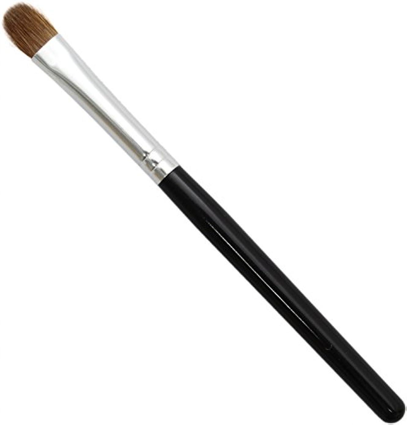 雷雨参照するに渡って熊野筆 メイクブラシ KUシリーズ アイシャドウブラシ 小 イタチ毛