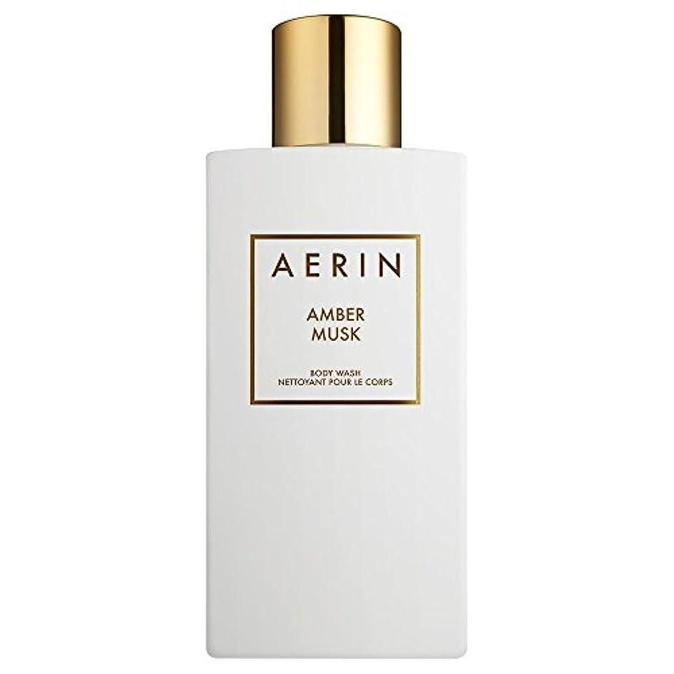 建物世論調査信じられないAerinアンバームスクボディウォッシュ225ミリリットル (AERIN) - AERIN Amber Musk Bodywash 225ml [並行輸入品]