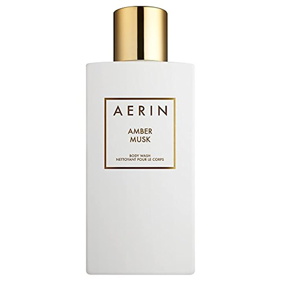 Aerinアンバームスクボディウォッシュ225ミリリットル (AERIN) (x6) - AERIN Amber Musk Bodywash 225ml (Pack of 6) [並行輸入品]