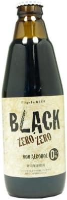 ノンアルコール黒ビールBLACK ZERO ZERO 24本 【ブラックゼロゼロ】
