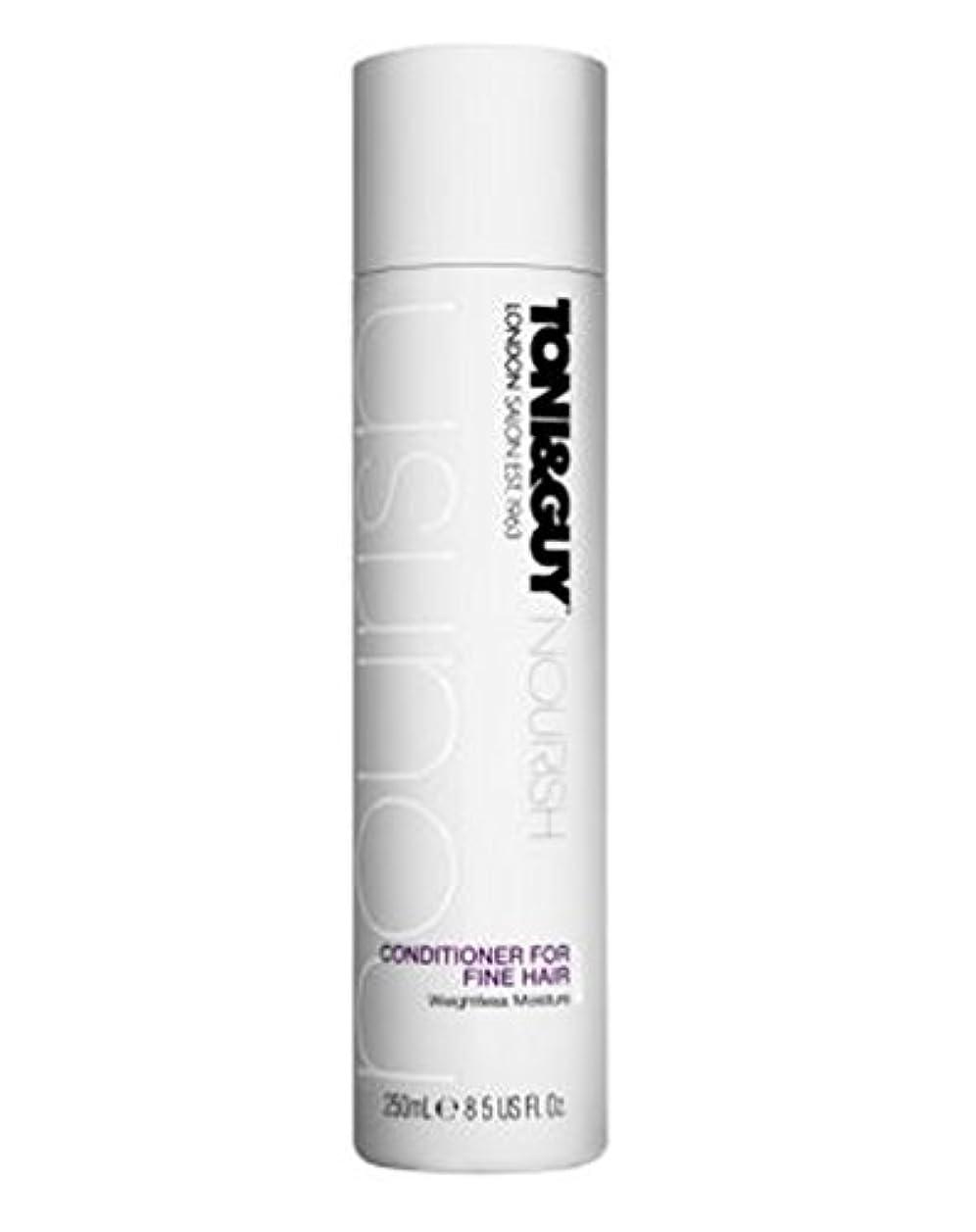 シリーズ背骨マイクトニ&男は細い髪の250ミリリットルのためにコンディショナーを養います (Toni & Guy) (x2) - Toni&Guy Nourish Conditioner for Fine Hair 250ml (Pack...