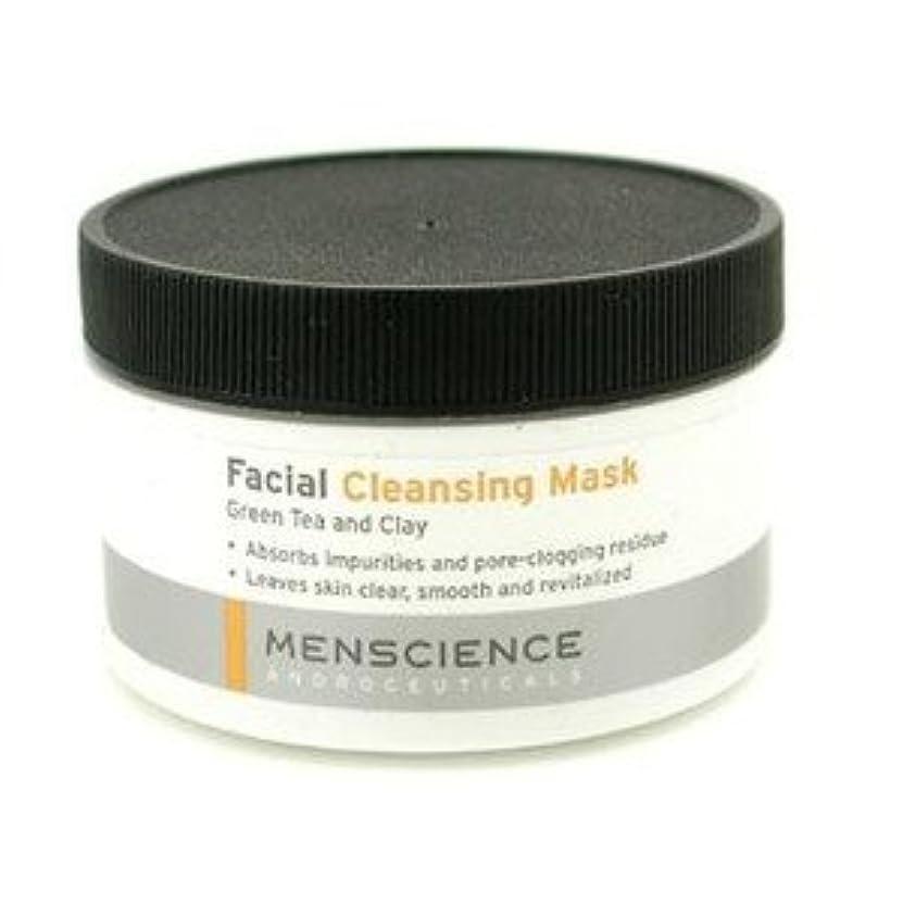 日付付きカルシウム乳MenScience フェーシャル クリーニング マスク - グリーンティー&クレイ 90g/3oz [並行輸入品]
