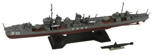 ピットロード 1/700 日本海軍 睦月型駆逐艦 如月 フルハルモデル + 特殊潜航艇 甲標的