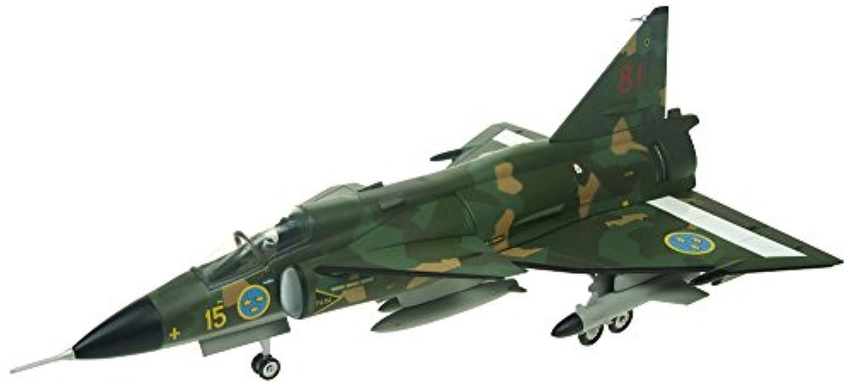 Aviation 72 1/72 サーブ ビゲン AJSH-37 スウェーデン空軍 F15-81 完成品