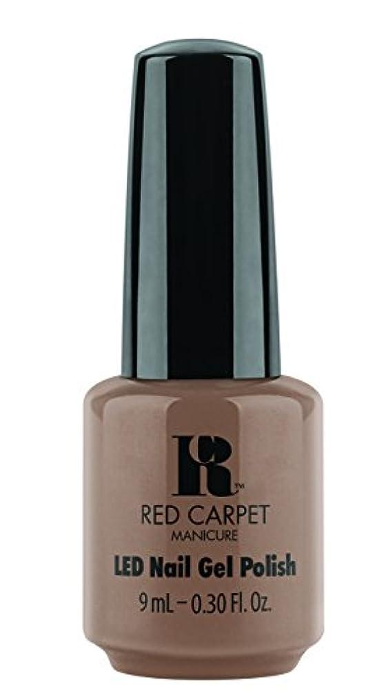 終了する素人またはRed Carpet Manicure - LED Nail Gel Polish - Re-Nude - 0.3oz / 9ml
