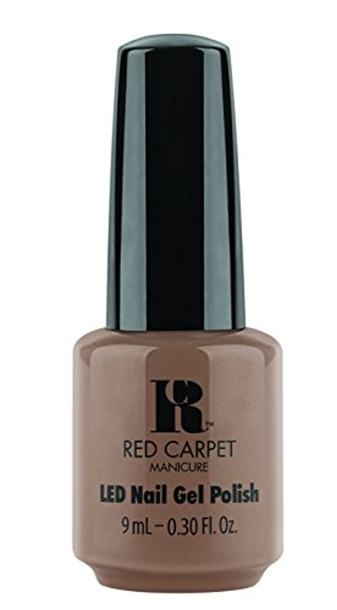 イチゴ噴火宿泊施設Red Carpet Manicure - LED Nail Gel Polish - Re-Nude - 0.3oz / 9ml