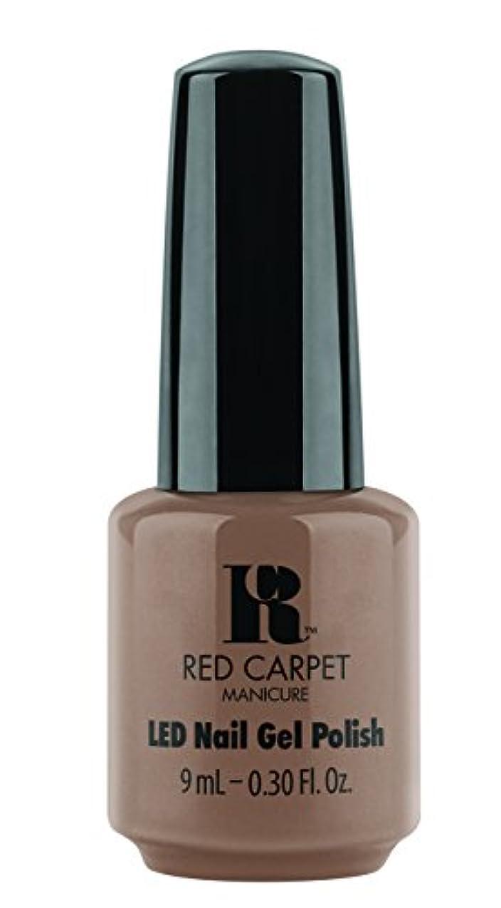 上げる雨の上げるRed Carpet Manicure - LED Nail Gel Polish - Re-Nude - 0.3oz / 9ml