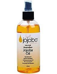 [Just Jojoba Australia]ジャストホホバ 100% ピュア ゴールデンホホバオイル 250ml(海外直送品)