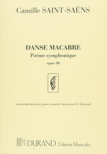 サン・サーンス: 死の舞踏 Op.40/デュラン社/ピアノ連...