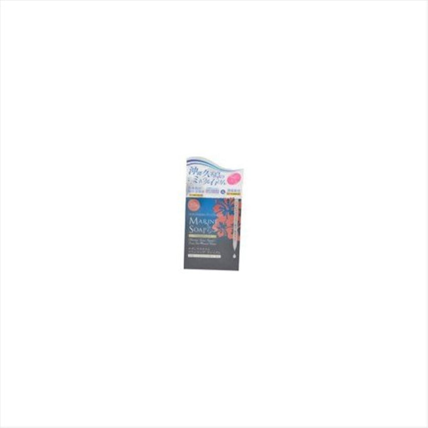 人口接続タンクサザンプラチナム マリンソープ プレミアム 60g 泡立てネット付