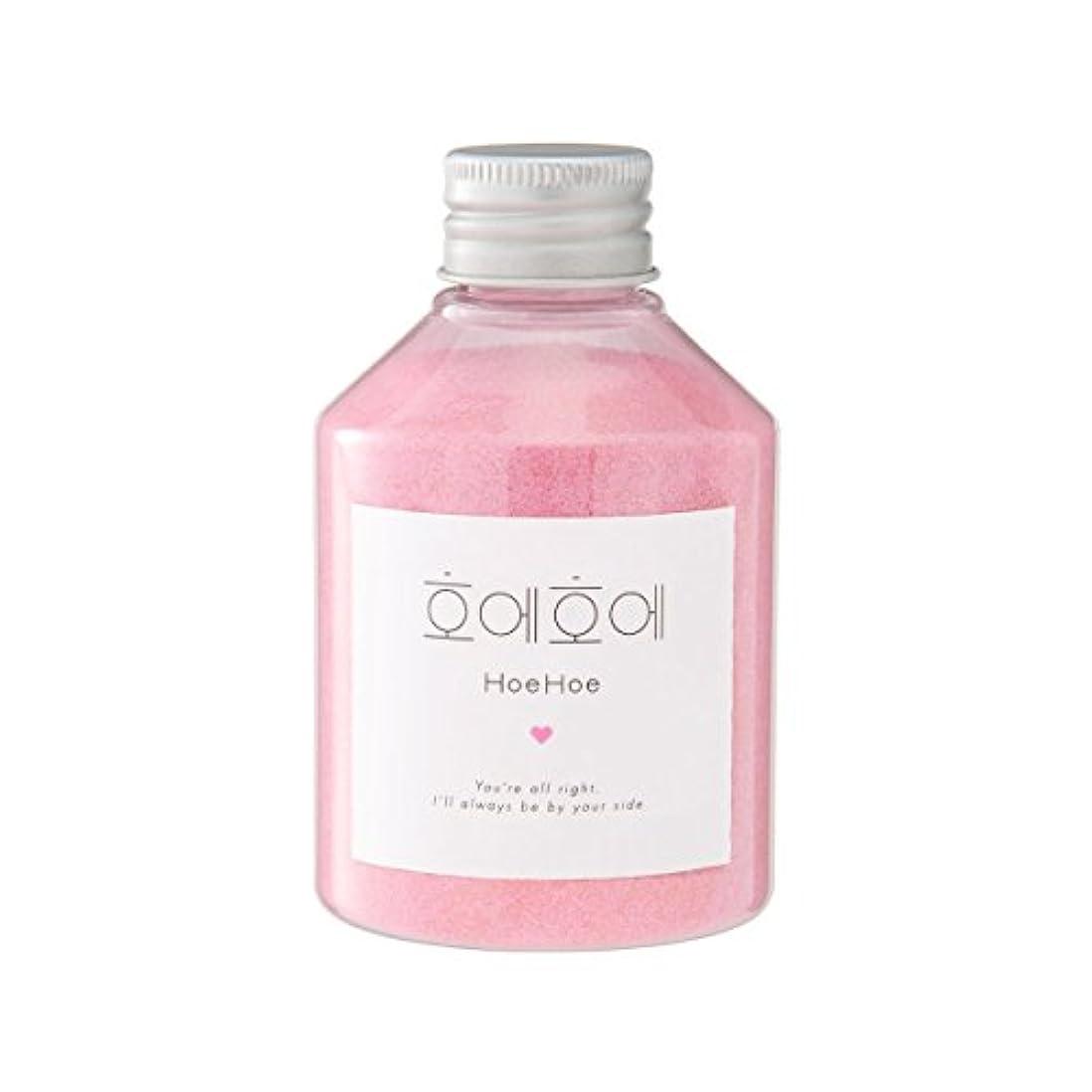 自分を引き上げる人気のパステルHoeHoe Bath Powder ローズの香り ホエホエ バスパウダー